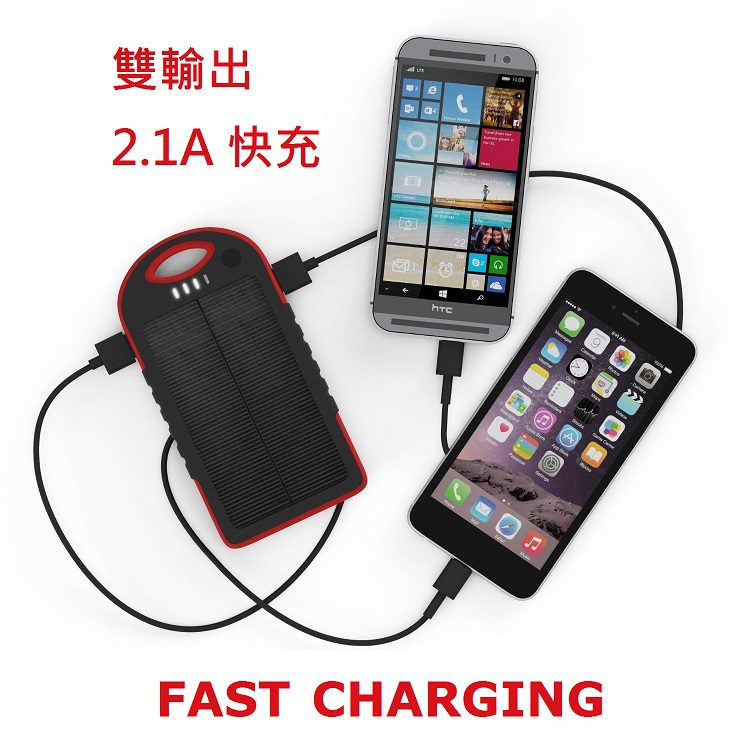 Double output fast charge