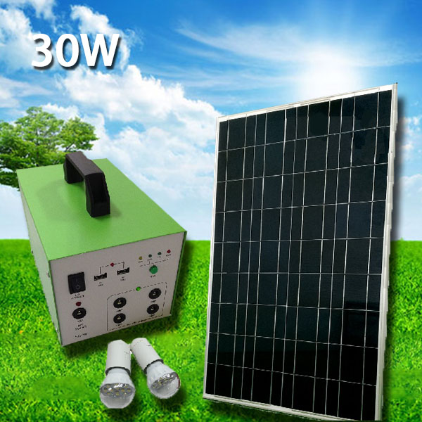 Solar Panels Kits Solar Kits Solar Panel Kit Solar Power Kits  30W 12AH