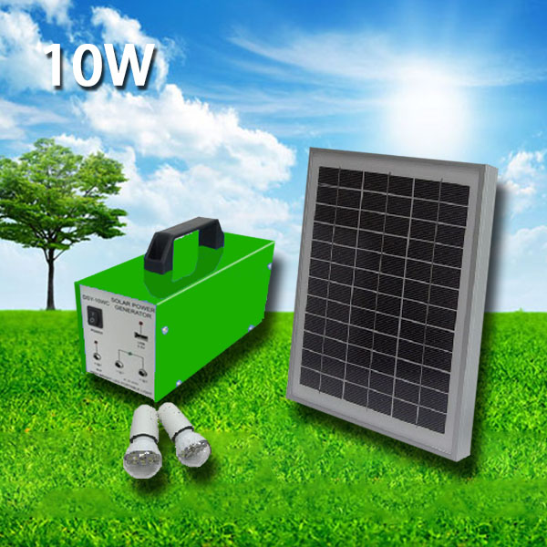 Solar Panels Kits Solar Kits Solar Panel Kit Solar Power Kits  10W 4AH