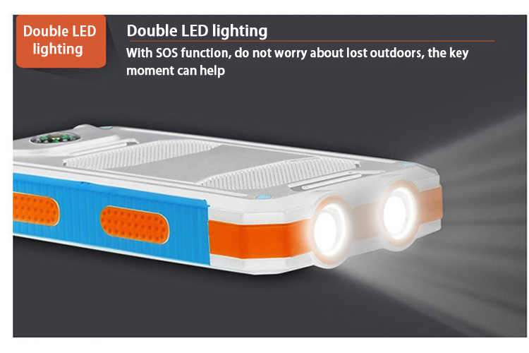 Double LED lighting