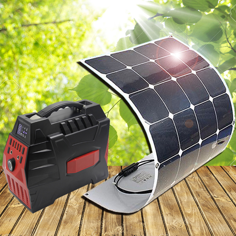 Solar Panel Kits Solar Kits 100W Super High Efficiency Flexible solar panels