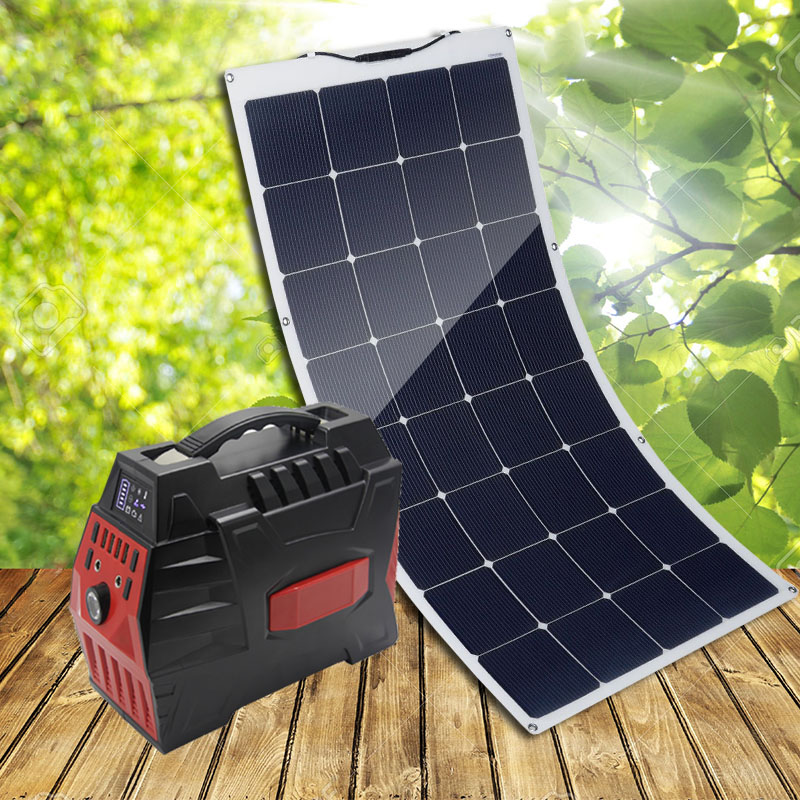 Solar Panel Kits Solar Kits 150W Super High Efficiency Flexible solar panels